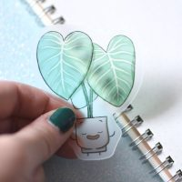 Sticker pack - Philodendron 3